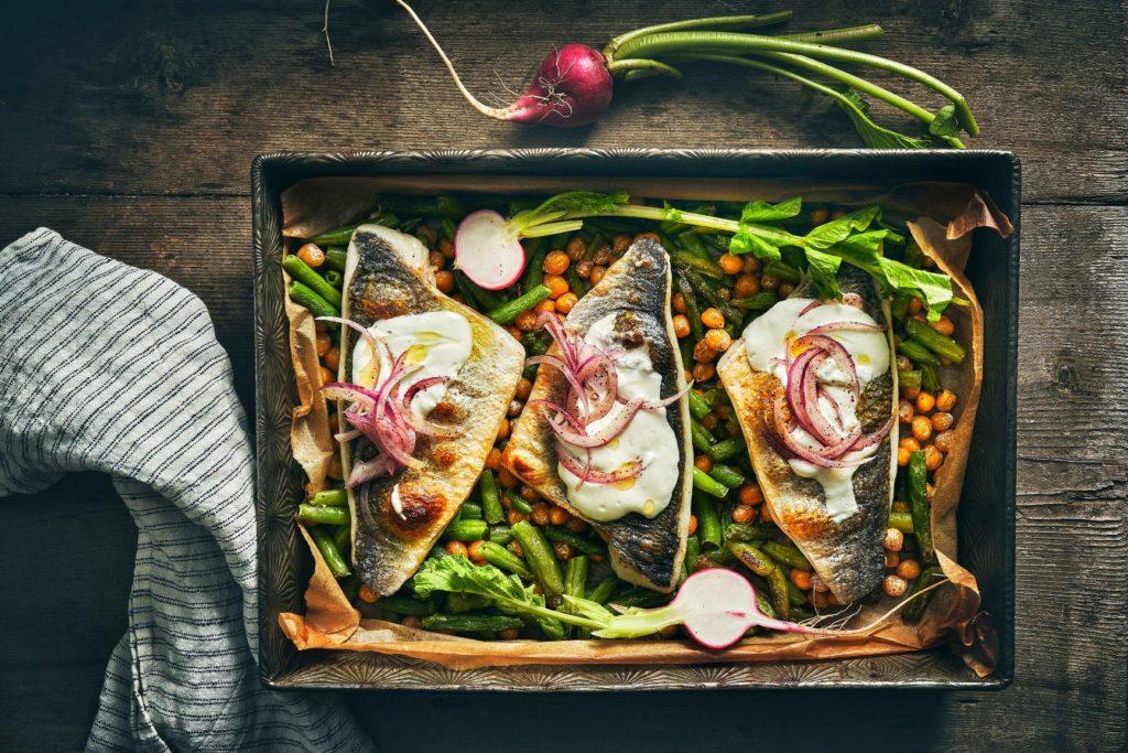 פילה דג בתנור