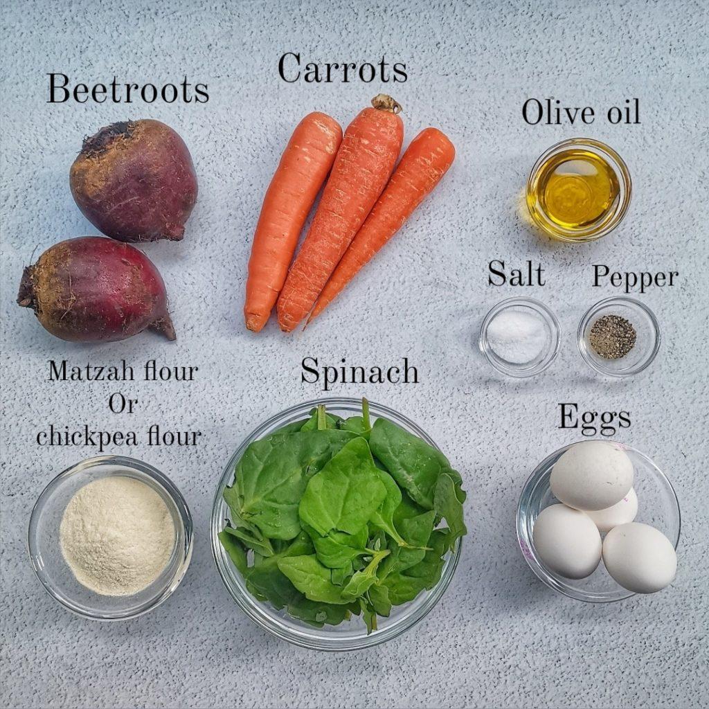 קניידלעך ירקות